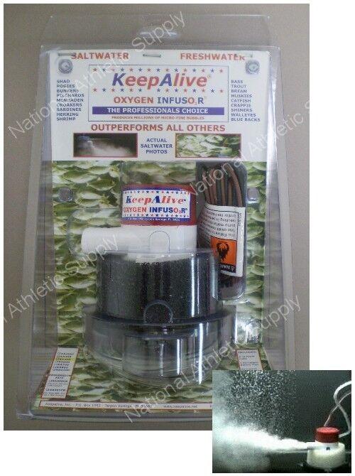 Keep Alive Fishing Bait Tank Aerator Model Ka500