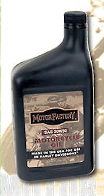 Case (12) Motor Factory Motorcycle Oil Sae 50 For Harley