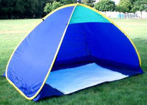 Pop Up Family Cabana Sun Wind Shade Beach Tent Shelter Ebay