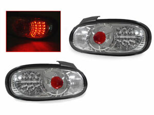 DEPO 1999 2000 2001 2002 2003-2005 MAZDA MX-5 MIATA LED CLEAR TAIL LIGHTS PAIR