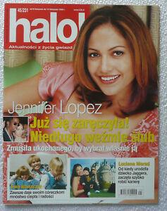 JENNIFER LOPEZ - polish magazine cover photo rare mag [1999] - Gniezno, Polska - JENNIFER LOPEZ - polish magazine cover photo rare mag [1999] - Gniezno, Polska