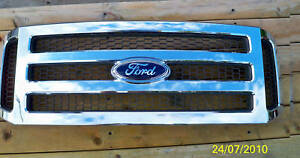 05-06-07-Ford-Superduty-CHROME-Grille-Grill-F250-F350-F450-amp-Excursion-05-Only