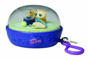 Littlest pet shop kitten fish bowl lps action toy take for Fish bowl toy