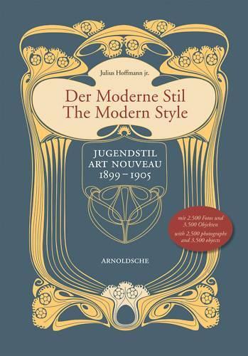 Fachbuch Der Moderne Stil Jugendstil 1899 bis 1905 tolles Buch viele Abbildungen