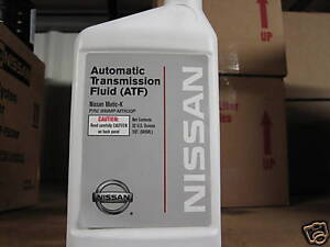 NISSAN MATIC K AUTOMATIC TRANSMISSION FLUID ONE CASE 12 QUARTS