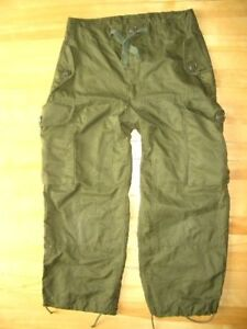 CANADIAN-MILITARY-WINDPROOF-COMBAT-PANTS-SZ-73-44-K26