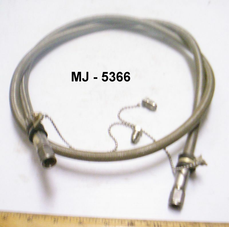 Titeflex - Stainless Steel Braided Hose with End Connectors - P/N: 37000004-0600