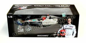 Michael Schumacher Mercedes 1:18 153100173 Minichamps