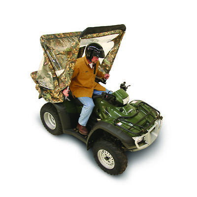 Atv Quikcab Easy Use Enclosure Convertible Quick Cab Camo Universal Fit New Ebay