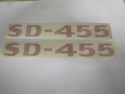 1973-74 Trans Am sd-455 Shaker Hood Decal, Red
