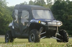 Top-Rear-Window-Doors-4-Existing-Windshield-POLARIS-Ranger-RZR-4-New-UTVs
