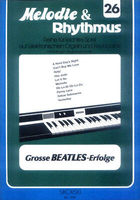 The Beatles Songbook Noten Keyboard sehr leicht