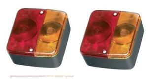 4-function-trailer-board-lamps-lights-brake-side-etc-x2