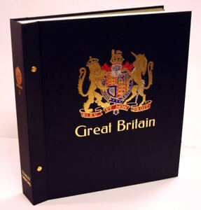 Stanley Gibbons GB Standard Album. Binder and slipcase Only