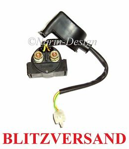 Verstärkt Magnetschalter Starter Anlasser Relais Relay Kymco KXR MXU 150 250 300