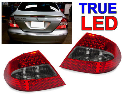 Depo 2003-09 Mercedes Benz W209 Clk 320/350/500 Smoke Led Tail Rear Light Amg