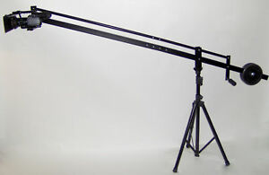 8-ft-Video-Camera-Crane-Jib-with-7-034-LCD-Monitor-New