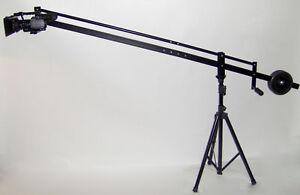 8-ft-Video-Camera-Crane-Jib-with-7-LCD-Monitor-New