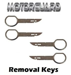 FORD-CMAX-SMAX-CD-RADIO-STEREO-REMOVAL-RELEASE-TOOL-KEY-PC5-132-X4
