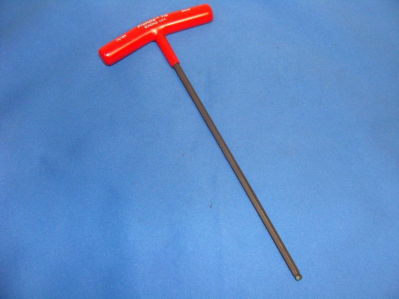 Unimat (5mm) Bondhus Hex Wrench T-handle Ball End