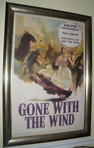 """GONE WITH THE WIND"" - ORIGINAL 1939 MOVIE POSTER ..."