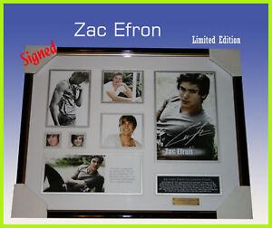 ZAC-EFRON-MEMORABILIA-SIGNED-FRAMED-LIMITED-EDT499-COA