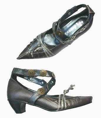 Neuf Chaussures Tout Cuir + Sanche De La Rosa + 36