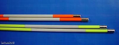 12 Golf Alignment Sticks Training Aids 48 Orange