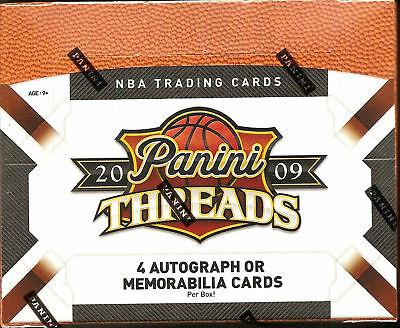 2009-10 Panini Threads Basketball Hobby Box Blake Griffin Stephen Curry Rc ???