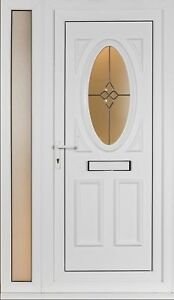 Upvc front door sets sidelights brand new ebay for Front door furniture sets