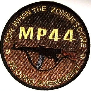 MP44 MP-44 VINTAGE Gun/firearms Patch/Applique For When the Zombies Come