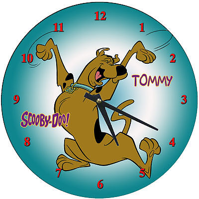 Personalized Scooby Doo Wall Clock