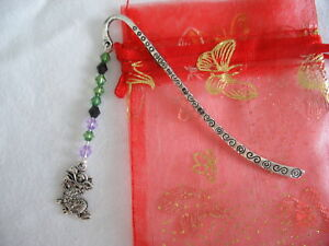 dragon-beaded-tibetan-silver-handmade-bookmark-wedding-favour-birthday-gift