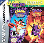 Crash And Spyro Superpack - Game Boy Advance Gba Sp Ds