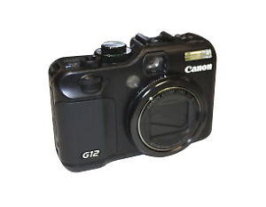 Canon PowerShot G12 10.0 MP Digital Came...