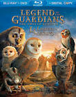 Legend of the Guardians: The Owls of Ga'Hoole (Blu-ray/DVD, 2010, 2-Disc Set, Canadian; Includes Digital Copy)