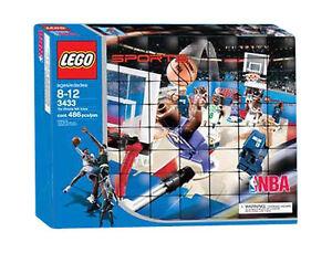 LEGO 3433 NBA sport basket Arena con personaggi gioco nuovo