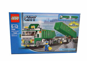 Lego City Kippsattelzug (7998) Classic camion Heavy Hauler
