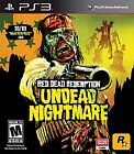 Red Dead Redemption: Undead Nightmare  (Sony Playstation 3, 2010) (2010)