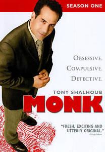 Monk-Season-1-DVD-2010-4-Disc-Set-DVD-2010