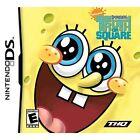 SpongeBob's Truth or Square (Nintendo DS, 2009) - European Version