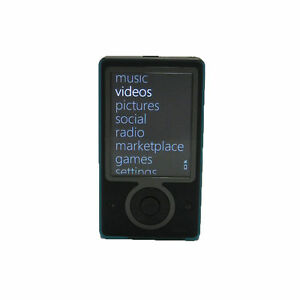 microsoft zune 30 black 30 gb digital media player ebay rh ebay com iPod Nano 5th Generation Manual iPod Nano 4th Generation Manual