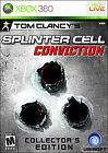 Tom Clancy's Splinter Cell: Conviction (Collector's Edition)  (Xbox 360, 2010) (2010)