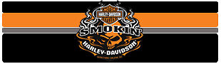 Smokin Harley-Davidson