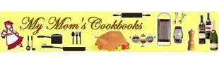my mom's cookbooks