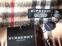 Authentic VS Fake Burberry scarfs