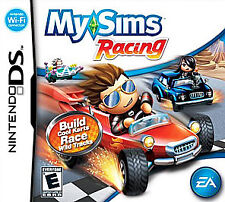 NEW My Sims Racing Nintendo DS Video Game Brand New Factory Sealed Free Shipping