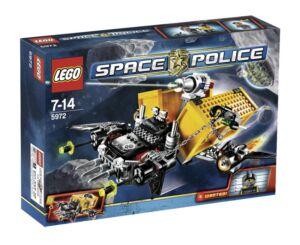 LEGO LEGO LEGO Space Police Containerraub (5972) 97b615