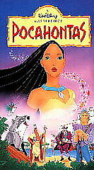 Disneys-POCAHONTAS-1996-VHS-Clamshell-LN