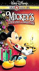 mickeys once upon a christmas vhs 2000 gold collection edition ebay - Mickeys Once Upon A Christmas Vhs